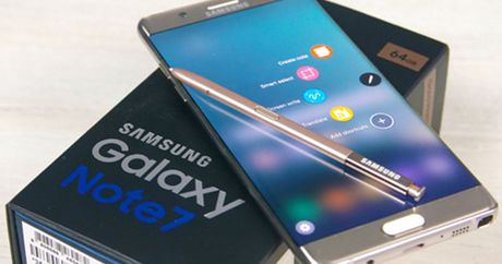 Galaxy Note 7 chua bi thu hoi se bi khoa tu xa - Anh 1