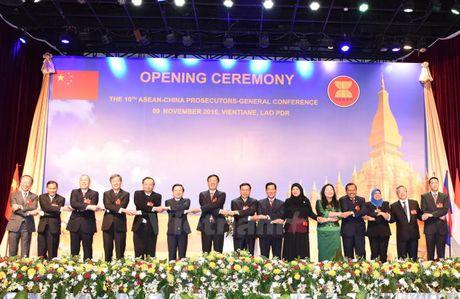 ASEAN va Trung Quoc hop tac chong toi pham xuyen quoc gia - Anh 1
