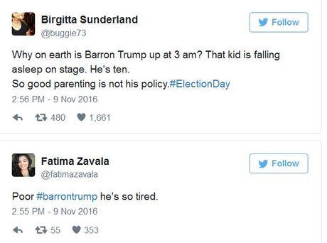 Cau am nha Donald Trump 'buon ngu dip mat' khi bo an mung - Anh 5