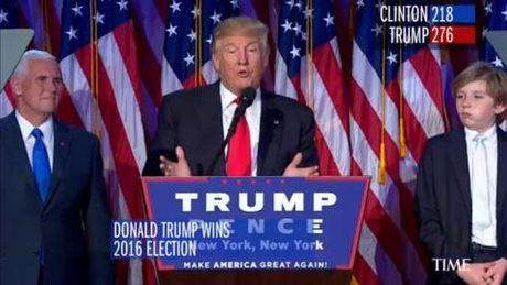 Donald Trump dac cu, truyen nhan Vanga thua 'thanh khi' - Anh 1