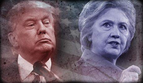 Hillary Clinton se gianh duoc 303 phieu dai cu tri, bo xa Trump? - Anh 1