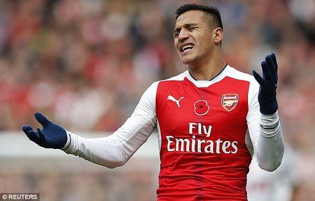 Arsenal kha nang lon mat Alexis Sanchez o tran dai chien voi MU - Anh 2