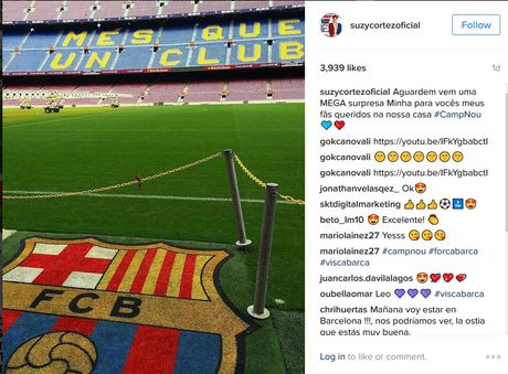 Suzy Cortez van moi mon mong Messi tha thu - Anh 2