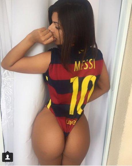 Suzy Cortez van moi mon mong Messi tha thu - Anh 4