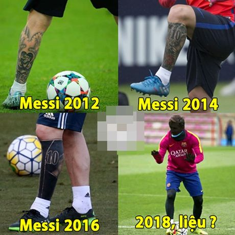 Anh che: Phat hoang voi hinh anh Messi 2018; Tam tau VCC khuynh dao Dong Nam A - Anh 4