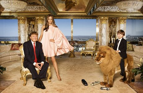 Anh an tuong ve cuoc doi Tong thong My dac cu Donald Trump - Anh 13