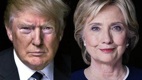 Hillary Clinton lat nguoc tinh the, thang ap dao Donald Trump - Anh 1