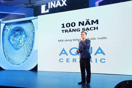 INAX Viet Nam ra mat cong nghe moi Aqua Ceramic - Anh 1
