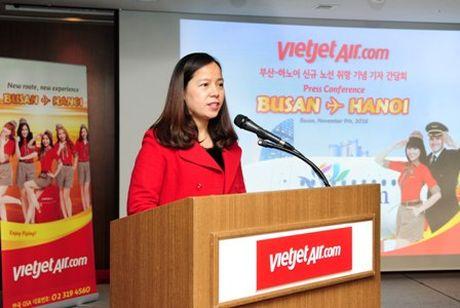 Vietjet mo duong bay Ha Noi – Busan - Anh 1