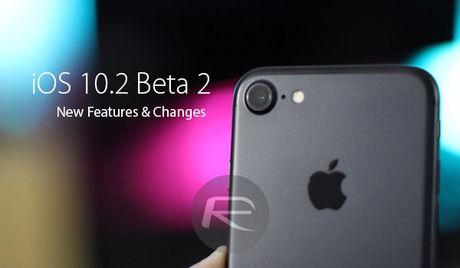 Co gi 'hot' tren ban iOS 10.2 beta 2 cua Apple? - Anh 1