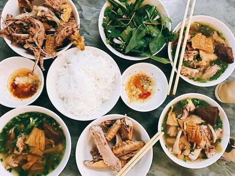 Nhung mon an ngon 'nhin la them' ngay dau dong Ha Noi - Anh 10