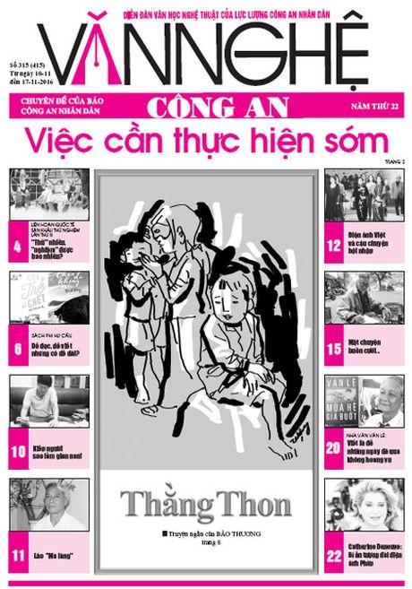 Don doc bao Van nghe Cong an so 315 - Anh 1