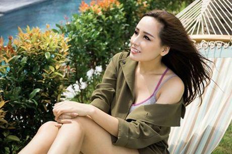 Mai Phuong Thuy dien bikini, khoe than nong bong sau khi lo vong eo ngan mo - Anh 6