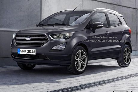 Ford Ecosport 2017 chuan bi ra mat co gi hay? - Anh 1