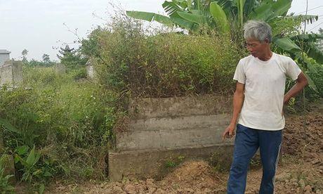 Tin moi nhat vu hai cot chon trom o Thai Binh - Anh 1