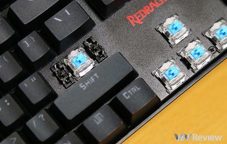 Trai nghiem Redragon Vara K551: trang bi Full LED RGB, gia mem - Anh 5