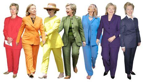 Cu ba 102 tuoi mac vest di bo phieu ung ho Hillary Clinton - Anh 2