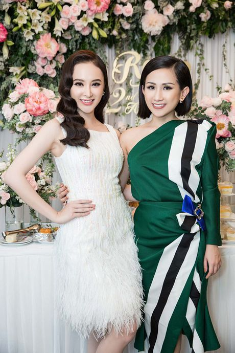 Trai xinh, gai dep cua showbiz Viet den chuc mung 'ba chu' Tram Nguyen - Anh 6