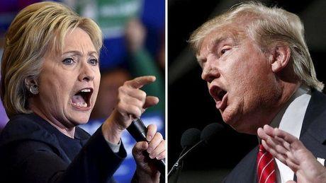 Clinton bat ngo thua Trump tai 4/6 bang chien truong - Anh 1