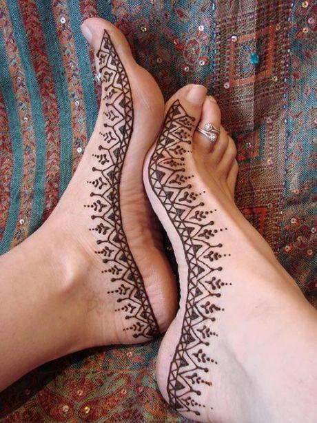 Kho cuong voi nhung hinh xam henna truyen thong - Anh 15