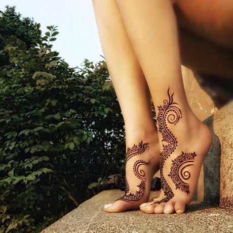 Kho cuong voi nhung hinh xam henna truyen thong - Anh 18