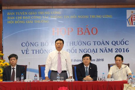 Phat dong Giai thuong toan quoc ve thong tin doi ngoai nam 2016 - Anh 1
