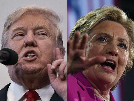 Clinton dan truoc Trump 68 - 48 - Anh 1