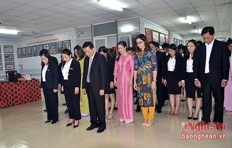 Bao Nghe An dang huong tuong niem Chu tich Ho Chi Minh - Anh 1