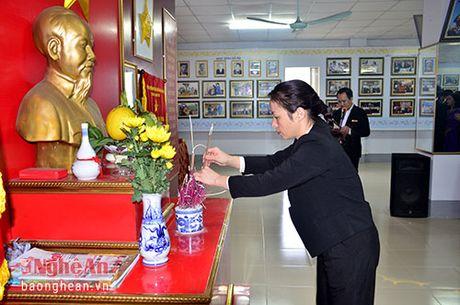 Bao Nghe An dang huong tuong niem Chu tich Ho Chi Minh - Anh 2