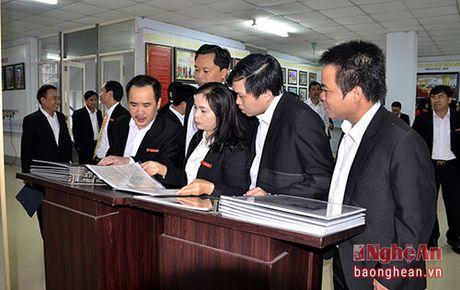 Bao Nghe An dang huong tuong niem Chu tich Ho Chi Minh - Anh 3