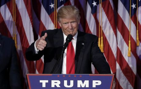 Phan ung cua the gioi khi Donald Trump dac cu - Anh 1