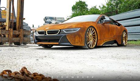 La lam voi BMW i8 phien ban 'dong nat' - Anh 3