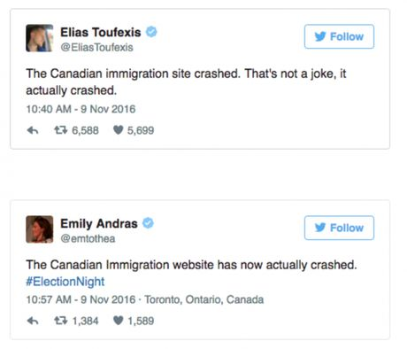 Website di tru Canada lien tuc 'sap' truoc su thang the cua Donald Trump - Anh 4