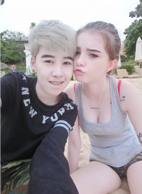 Gai xinh yeu nhau het roi, den ca 'Nu than noi y' Thai Lan cung co ban gai! - Anh 16