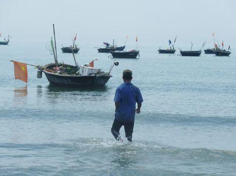 Quang Ngai: Mot ngu dan mat tich khi dang danh bat gan bo - Anh 1