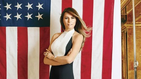 Ve dep goi cam cua tan de nhat phu nhan nuoc My Melania Trump - Anh 15