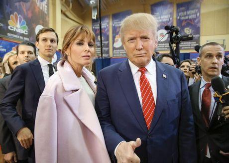 Ve dep goi cam cua tan de nhat phu nhan nuoc My Melania Trump - Anh 1