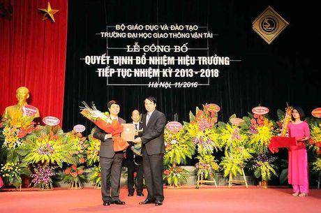 Dai hoc Giao thong Van tai co Hieu truong moi - Anh 1