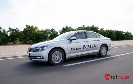 Danh gia Volkswagen Passat 2016: Sang trong, the thao, kien tao cam xuc lai - Anh 8