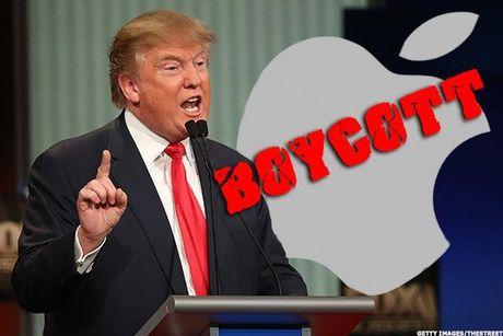 Donald Trump da 'dung cham' voi gioi cong nghe va doa Apple nhu the nao? - Anh 1