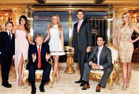 Chan dung 8 dua chau dang yeu cua Donald Trump - Anh 1
