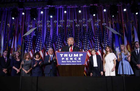 Donald Trump hua xay dung mot nuoc My doan ket - Anh 1