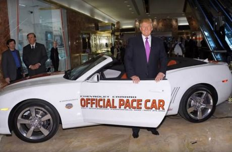 5 xe hop yeu thich cua tan Tong thong My Donald Trump - Anh 5