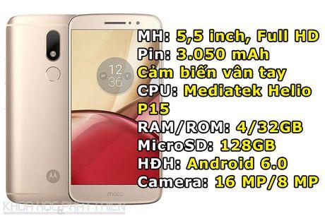 Lenovo trinh lang Moto M: Camera 'khung', gia 6,52 trieu dong - Anh 1