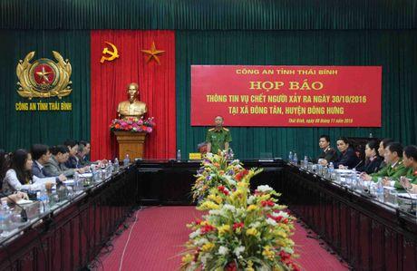 Thai Binh: Nguoi phu nu di SH khong chet vi bi chem - Anh 2