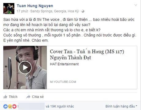 Tuan Hung gui tam thu tiec thuong 'de tu' Dat Co - Anh 2