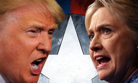 Ket qua bau cu Tong thong My: Trump dat banh, Clinton huy phao hoa - Anh 1