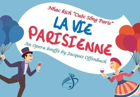 Ra mat vo opera hai huoc Cuoc song o Paris - Anh 1