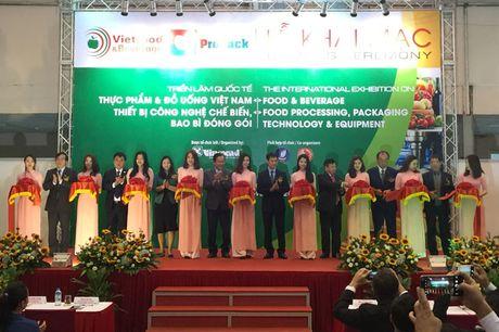 Vietfood & Beverage - ProPack 2016 chinh thuc khai mac - Anh 1
