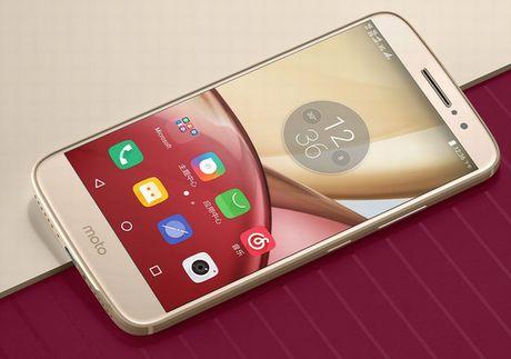 Motorola trinh lang smartphone tam trung Moto M - Anh 1